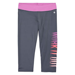 Xersion Performance Graphic Capri Leggings - Girls' 7-16 and Plus