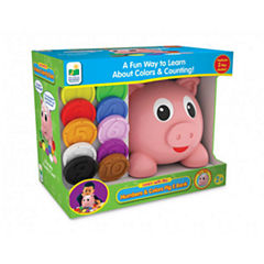 The Learning JourneyLearn with Me, Numbers and Colors Pig E Bank