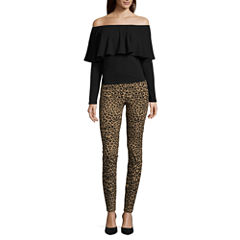 i jeans by Buffalo Ruffle Off Shoulder Top or Super Stretch Pants