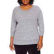 Made For Life 3/4 Sleeve Sweatshirt-Plus