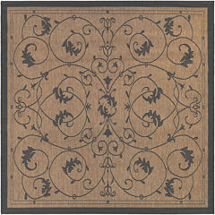 Couristan® Veranda Indoor/Outdoor Square Rug
