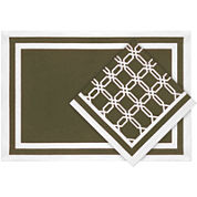 Lattice Links Set of 4 Napkins