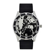 Star Wars® Mens Black and White Watch