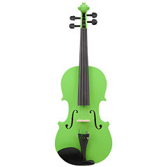 Le'Var 4/4 Student Violin Outfit - Neon Lime