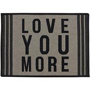 Love You More Rectangular Rug