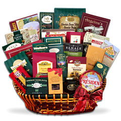 Alder Creek Gourmet Extravagance Sweet and Savory Gift Basket