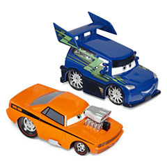 Disney Collection Cars 2-pk Snot Rod & DJ Toy Cars