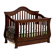 Million Dollar Baby Classic 4-in-1 Convertible Crib - Espresso
