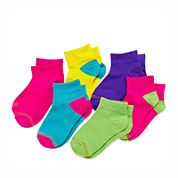 Gold Toe® 6-pk. Neon Quarter Socks