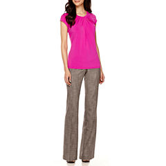 Worthington® Twist-Front Blouse or Modern-Fit Pants