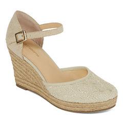 Liz Claiborne® Mabel Espadrille Wedge Sandals