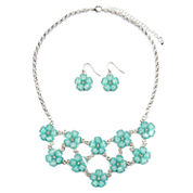 Mixit Womens 3-pc. Clear Jewelry Set