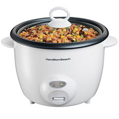 Hamilton Beach® Rice Cooker & Food Steamer