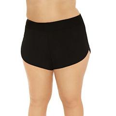 Costa Del Sol Solid Swim Shorts Juniors Plus