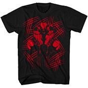 Marvel X-Men Stipple Slash Graphic T-Shirt