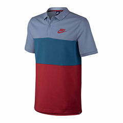 Nike Easy Care Short Sleeve Solid Polo Shirt