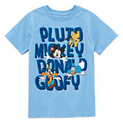 Disney Boys Graphic T-Shirt-Big Kid