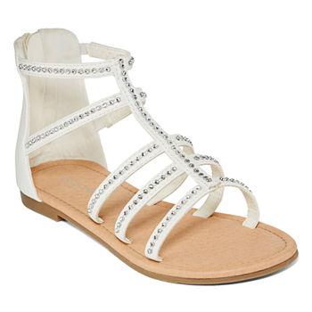 Arizona Littlebig Kid Girls Malt Ankle Strap Gladiator Sandals