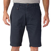 Seven7® Flat-Front Chino Shorts