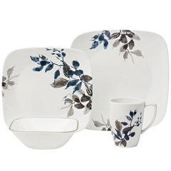 Corelle® Boutique™ Kyoto Night 16-pc. Square Dinnerware Set