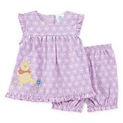 Disney Baby Collection Pooh Bear 2-pc. Set - Baby Girls newborn-24m