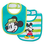 Disney Baby Collection 2-pk. Mickey Bibs