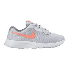 Nike® Tanjun Girls Athletic Shoes - Little Kids