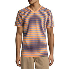 U.S. Polo Assn. Short Sleeve V Neck T-Shirt