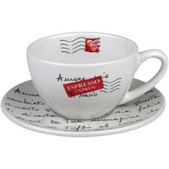 Konitz Coffee Bar Amore Mio 8-pc. Cappuccino Cup and Saucer Set