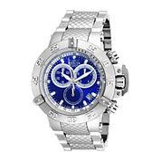 Invicta® Subaqua Mens Blue Dial Chronograph Sport Watch 18171