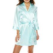 Intimo Donatella® 3/4 Sleeve Bridesmaid Wrap Robe