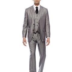 Steve Harvey® Black & White Plaid Suit Separates - Classic
