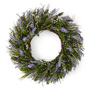 JCPenney Home™ Spring Lavender Wreath