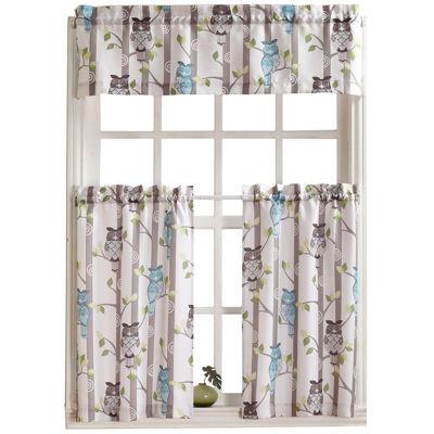 Hoot Kitchen Curtains