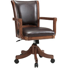 Parkview Bonded Leather Adjustable Game Chair