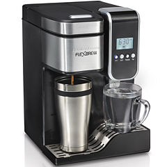 Hamilton Beach® FlexBrew® Programmable Coffee Maker and Hot Water Dispenser