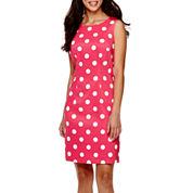 Alyx® Sleeveless Dot Sheath Dress