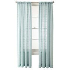 JCPenney Home™ Alexander Rod-Pocket Sheer Panel
