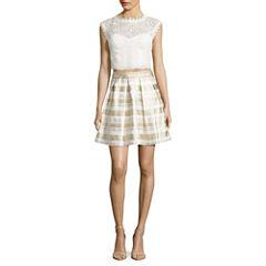 Love Reigns Sleeveless 2-piece Evening Dress -Juniors