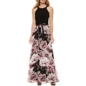 S. L. Fashions Sleeveless Maxi Dress