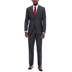 Collection by Michael Strahan Charcoal Tic Suit Separates-Classic Fit