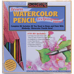 Learn Watercolor Pencil Techniques Now! Kit
