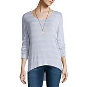 Self Esteem 3/4 Sleeve Round Neck T-Shirt-Juniors
