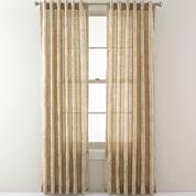 Royal Velvet® Pierson Stripe Back-Tab Sheer Panel