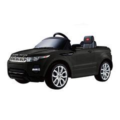 Rastar Land Rover Evoque 12V Car - Black
