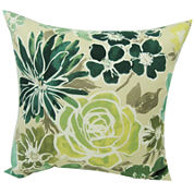 Blossom Floral Outdoor Pillow