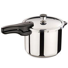 Presto® Stainless Steel Pressure Cooker + Tri-Metal Bottom