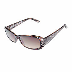 Nicole By Nicole Miller Rectangle Rectangular UV Protection Sunglasses