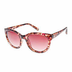 Nicole By Nicole Miller Retro Rectangle Rectangular UV Protection Sunglasses