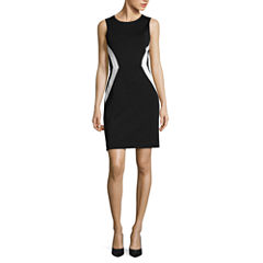 Nicole By Nicole Miller Short Sleeve Sheath Dress